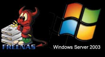FreeNAS y Windows Server