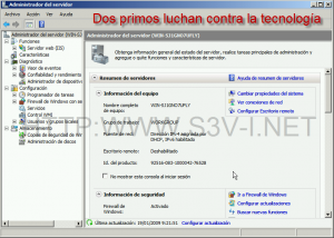 Server Manager en Windows Server 2008