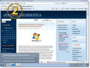Windows 7 - Elementos de la barra de tareas