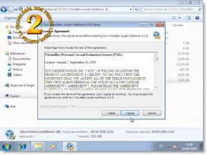 Windows 7 - Instalación de Virtual Box guest additions