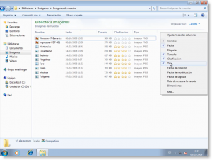 El Explorador de Windows 7