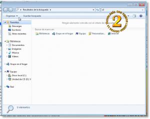 Windows Search en Windows 7