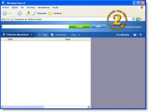 Windows Desktop Search para Windows Xp (Búsqueda en el escritorio)