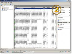 Firewall con seguridad avanzada de Windows Server 2008