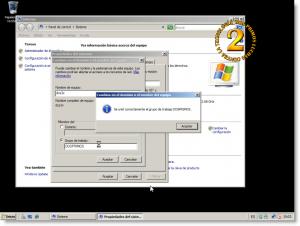 Cambio de grupo de trabajo en Windows Server 2008