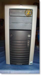 Vista frontal Hp Proliant ML150 G3