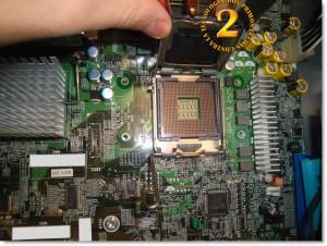 Zócalo para procesador en HP Proliant ML150 G3
