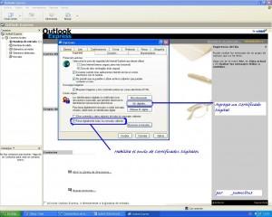 Configurando MIME en Outlook