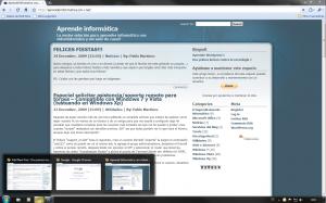 Barra de tareas de Windows 7