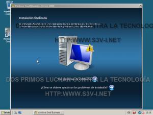 Windows Server SBS 2008 - Instalación