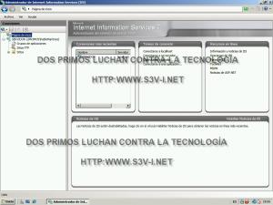 Windows Server SBS 2008 - IIS 7 Pagina de inicio