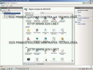 Windows Server SBS 2008 - IIS 7 Pagina principal