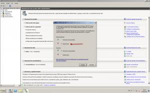 Configuracion Seguridad Mejorada Windows server 2008