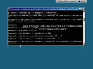 Server Core - Instalar Active Directory en CMD