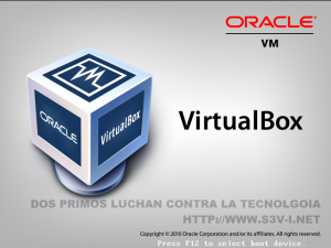 Oracle ViortualBox ScreenShot