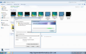 Bibliotecas de Windows 7