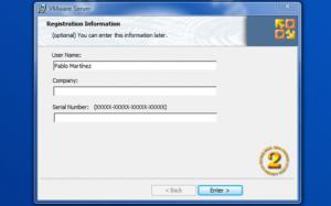 Instalación de VmWare Server