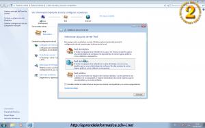 Ubicaciones de red en Windows 7