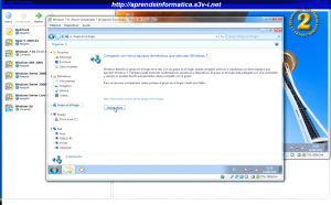 Windows 7 - Unirse a un Grupo Hogar
