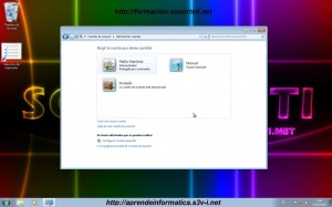 Configurar usuarios en Windows 7