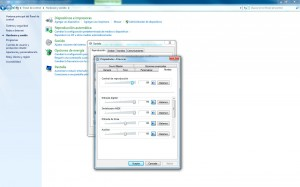 Windows 7 - Configurar dispositivos de audio