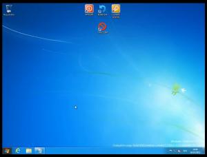 Windows 8 - Acceso a opciones de apagado