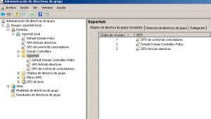GPOs en Windows Server 2008 r2
