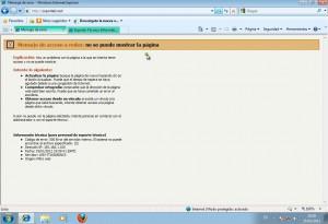 Forefront TMG 2010 - Acceso no permitido
