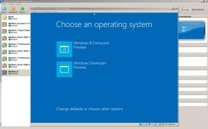 Windows 8 - Selección de tipo de sistema
