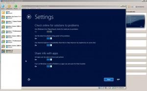 Windows 8 - Configuraciones iniciales