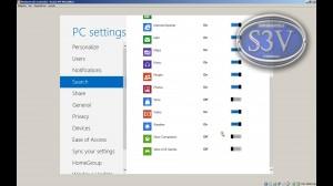 Windows 8 - Configuraciones generales