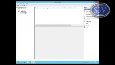 Windows Server 8 - Programador de tareas