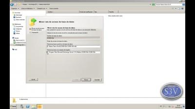 Exchange Server 2010 - Mover Base de datos