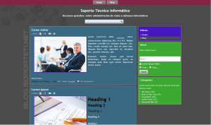 Windows 8 WordPress Theme