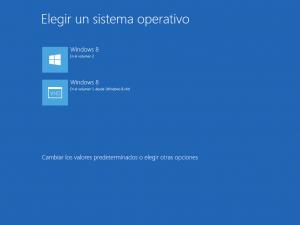 Windows 8 - Multiarranque
