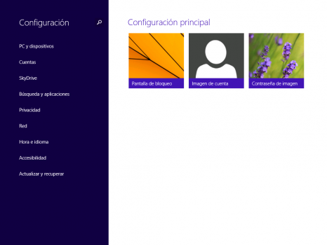 Windows 8.1 - Configuración del Pc
