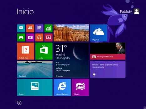 Windows 8.1 - Nuevos iconos Start Screen