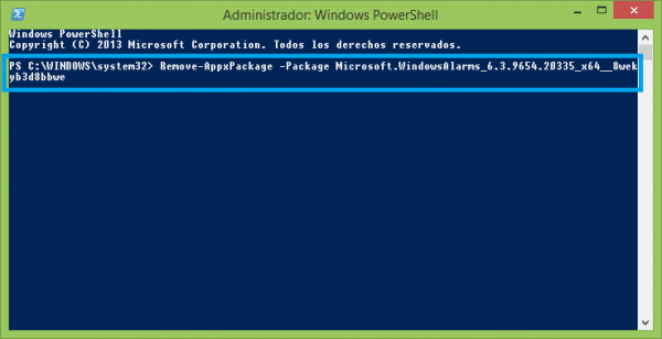 PowerShell 3.0 - Desinstalar aplicaciones de Windows Store
