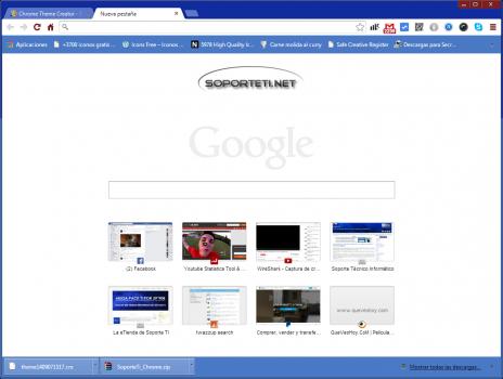 SoporteTi Chrome Theme