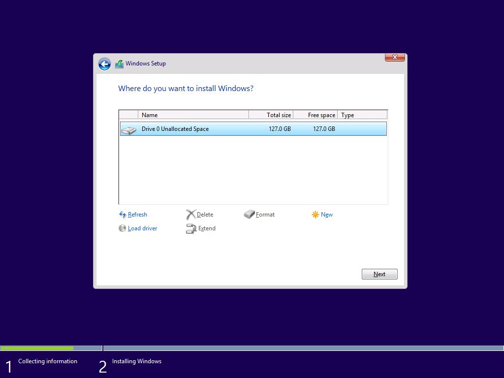 Windows 10 - Instalación