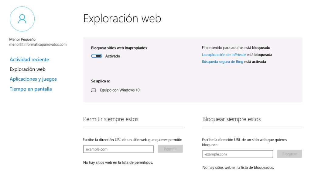 Exploración Web