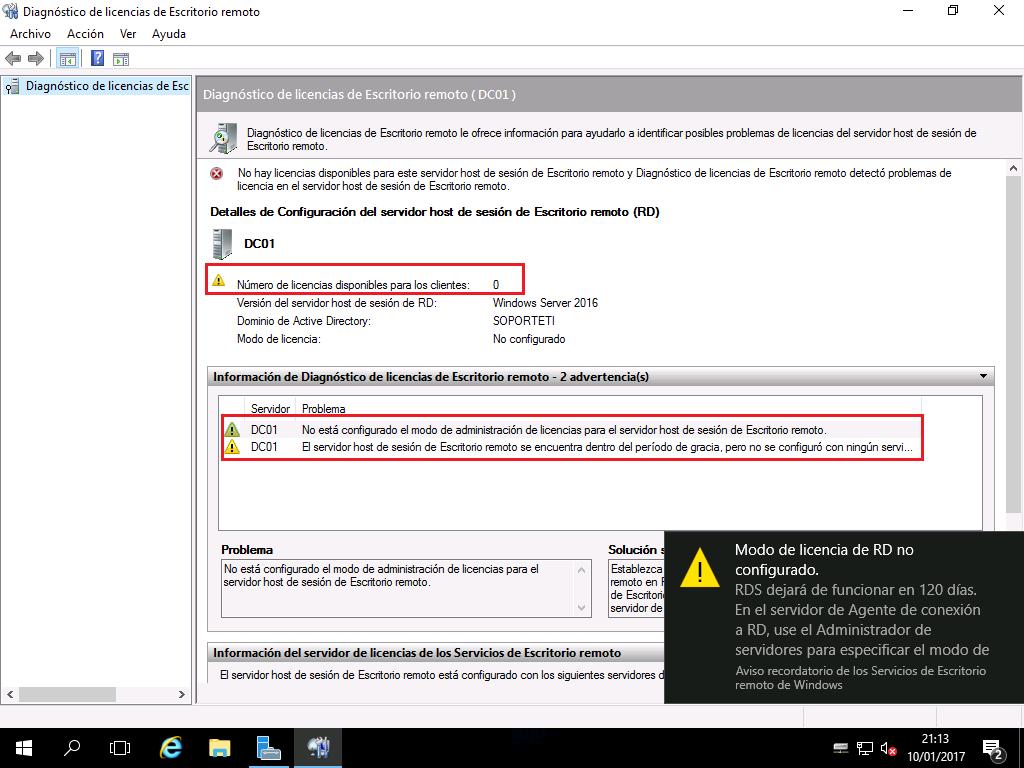 licencia de windows server