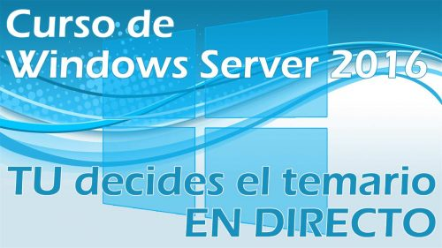 Evento en directo – Windows Server 2016