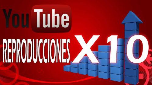 YouTube – Las reproducciones se disparán en todos los canales