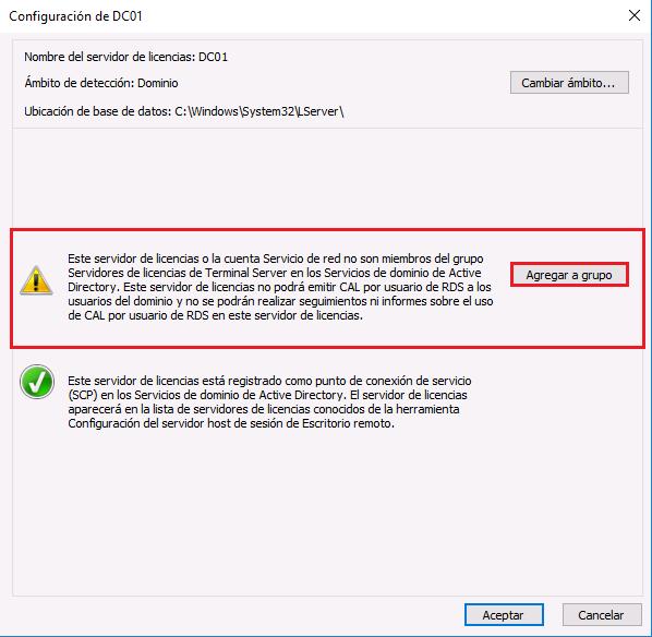 Windows server 2016 gpos especificar servidor y modos de licencia para rds - Reiniciar escritorio remoto ...