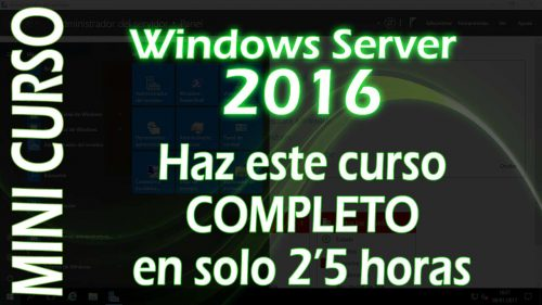 Mini Curso de Windows Server 2016