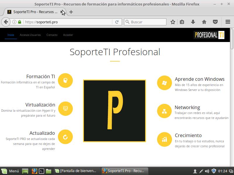 Linux MINT - Screenshot - SoporteTI