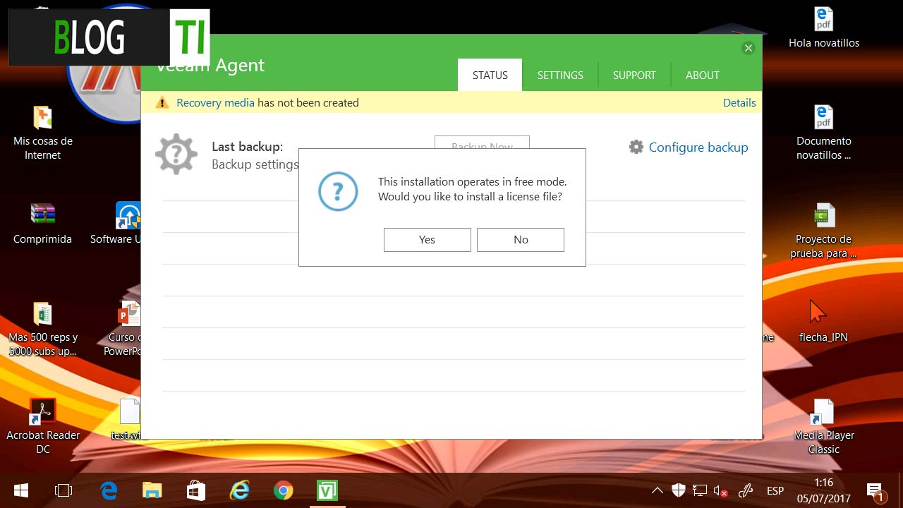 Veeam Agent for Windows - Instalación