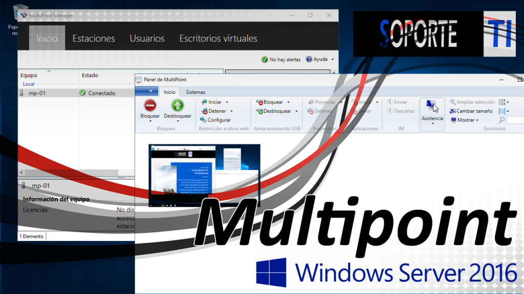 Windows Multipoint Server 2016 – 3 Vídeos