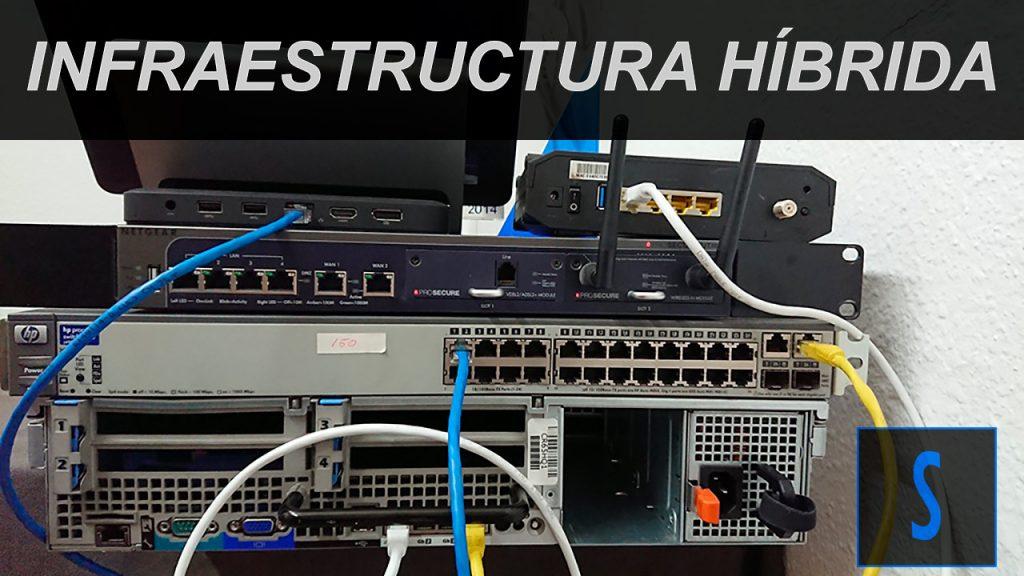 Infraestructuras híbridas virtual / físico